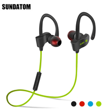 Bluetooth 4.1 Wireless Headphones Ear Hook Fashion Sport Earphones Hifi Stereo Mp3 Music Player Earbuds Headset with Microphone(China)