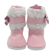 Doll Shoe Cute Skates Multicolor Boots Snow Boots Fit 43cm Baby Born Doll and 18 Inch American Girl Dolls BJD Doll Shoes X-205