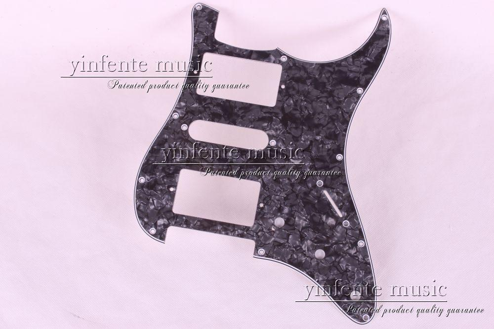 New 1pcs Electric Guitar pickguard Strat/ST Yellow style 3-ply HSH #A63<br>