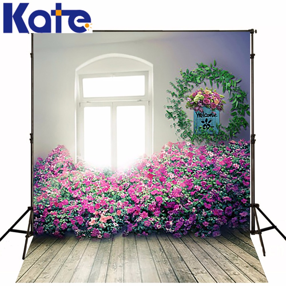 New Arrival Background Fundo Colorful Wreath Of Flowers 300Cm*200Cm(About 10Ft*6.5Ft) Width Backgrounds Lk 2624<br>
