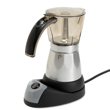 French Press Cafetiere Coffee Tea Pot Kettle 6 Cups Coffee Maker 3 minutes Electric Automatic Home Office Coffee Machine