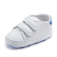 Newborn Baby Shoes Winter Baby Footwear Toddler Shoes PU Leather Soft Cotton Bottom Fashion White Shoes for Baby Boys & Girls(China)