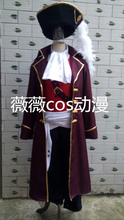 2016 Aph Axis Power Hetalia Britain UK England Pirate Cosplay Party Costume