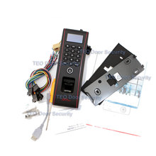 Outdoor Biometric Access Control Terminal Waterproof Standalone Keypad ZKTeco TF1700 Building Access and attendance device TCPIP