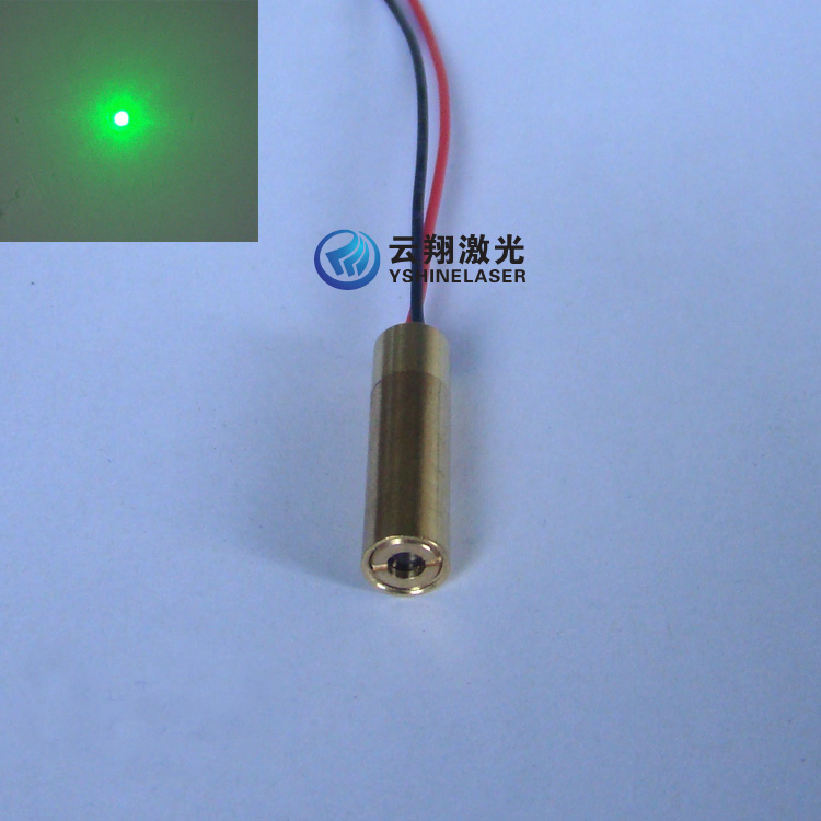 Super Small Size 8mm 20mW532nm Diameter Green Laser Module Point Positioning and Aiming Transmitter<br>