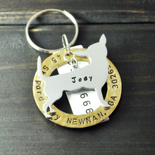 Personalized Chihuahua Dog Tag, Pet ID Tags, Hand Stamped Engraved Alloy Chihuahua tag, Customized Name & Address, Phone Number