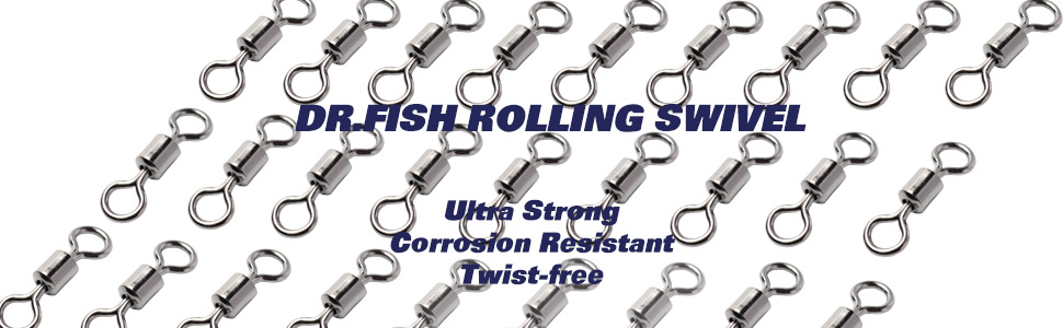 40 Carp Fishing Tackle Kwick LinQ Quick Swivel Barrel Rolling Link Freshwater