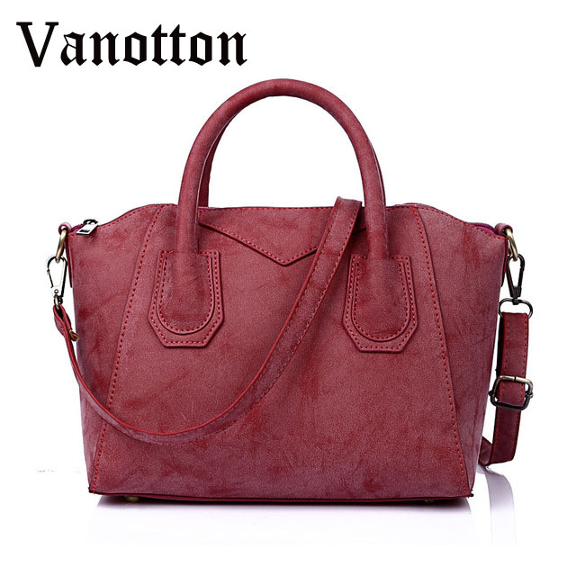 2017 Women Handbag Fashion Pu Leather High Quality Tote Bag Brand Design Casual Solid Color Shoulder Bag Female Messenger Bag<br><br>Aliexpress