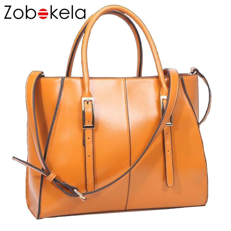 ZOBOKELA Luxury Handbags Women Bag Female Designer High Quality Tote Bags Lady Handbag Women Messenger Bag Famous PU Leather<br>
