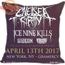 New Nice Chelsea Grin Pillowcase Wedding Decorative Pillow Case Customize Gift For Pillow Cover A311&115