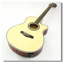 40-31 NEW guitars 40 inch 5 EQ Electric Acoustic Guitar Rosewood Fingerboard guitarra with guitar pickup tuner strings