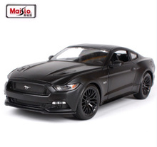 New arrival 1/18 Scale Ford Mustang 2015 GT 5.0 Alloy Diecast Car Model Alloy Metal Car Model For Kids Gifts Toy Free Shipping(China)