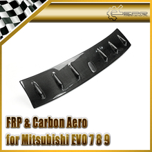 Car-styling For Mitsubishi Evolution EVO 7 8 9 CS Style Carbon Fiber Vortex Generator In Stock