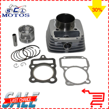 Sclmotos-CG150 62mm Cylinder Piston Ring Gasket Kit For Honda CG 150 CG150 150CC Zongshen Shineray Bashan Dirt Pit bike Racing(China)