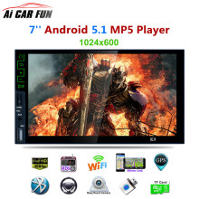 K9 7-inch Quad-core Android 5.1 System Bluetooth HD MP5 Player 3G Wifi Connect GPS Navigation Mirror Link AM/FM/RDS Radio Tuner(China)