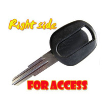 Transponder Key Blank For Chevrolet For Access 25pcs/lot(China)