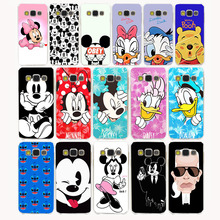 1761G cute Mickey & Minnie New design Hard Case for Samsung Galaxy A3 A5 A7 J3 J5 J7 Grand 2 J5 Prime 2015 2016 2017