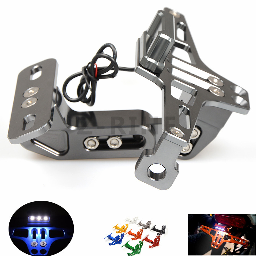 for  Universal Fender Eliminator License Plate Bracket Ho Tidy Tail motorcycle accessories For Ducati Monster Il Mostro S2R 1000<br>