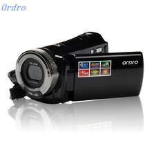 Ordro HDV-108 Protable Digital Video Camcorder DVR 8X Digital Zoom 16MP Resolution 720P Video 2.7 inch Sreen(China)