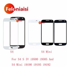 Buy High Samsung Galaxy S4 S IV i9500 i9505 S4 Mini i9190 i9195 i9192 Front Outer Glass Lens Touch Screen Panel for $6.50 in AliExpress store