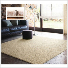 LW Modern Minimalist Big Size Super Soft Thick Carpet Living Room Coffee Table Bedroom Carpet  Bathroom Shop For Anti-skid Pad