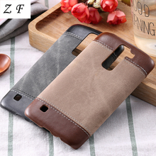 ZF PC+PU Leather Jean Vintage Denim Business Case For LG G3 G4 G5 K7 K8 K10 Nexus 5 5x Google Cowboy Man Canvas Phone Back Cover