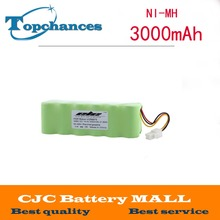 High quality New 14.4v 3000mAh Ni-MH Rechargeable Battery For Samsung NAVIBOT VCR8875 14.4 Volt Free Shipping(China)