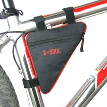 Front Tube Frame Bag Mountain Triangle Bike Pouch Holder Saddle Bag Outdoor 4 Colors Waterproof Triangle Cycling Bicycle Bags
