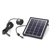 CES Hot Water Pump Panel Brushless Solar Energy to Power 6V Pond 150L / H