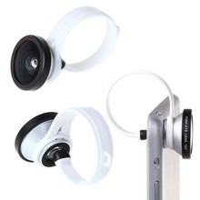 Hot Sale Premium Quality Useful Brand New Fish Eye Lens Clip for iPhone4 4s 5 5s Samsung New Arrivals GIft