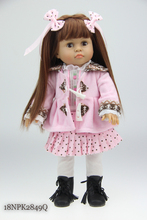 ON SALE 18inches American girl doll Journey Girl Dollie& me fashion doll Toys for girls Birthday Gift