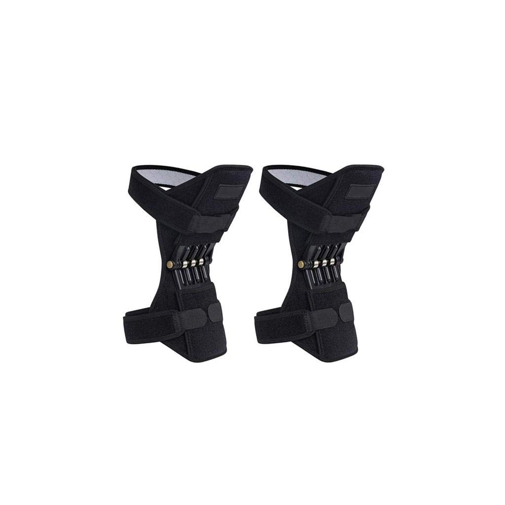 Apparel - Knee Protection Booster Power Support Knee Pads Powerful Rebound Spring Force Sports Reduces Soreness Leg Protection