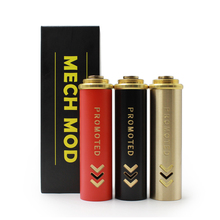 Extension Promoted Mod Tube Clone Brass Material Gold Black Red Fit 18650 Battery For Mechanical Box Mod E Cigarette