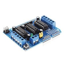 5PCS L293D Motor Drive Shield Dual for Arduino Duemilanove, Motor Drive Expansion Board