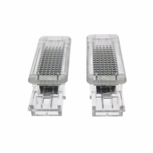 2x Error Free 18 LED Courtesy Door Light Car Lamp Source fit for Mercedes Benz W203 Class SLK GLK W209 R171 SLR W240 VIANO W639(China)