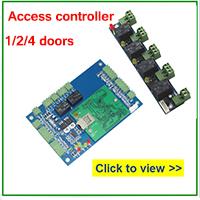 Access controller doors
