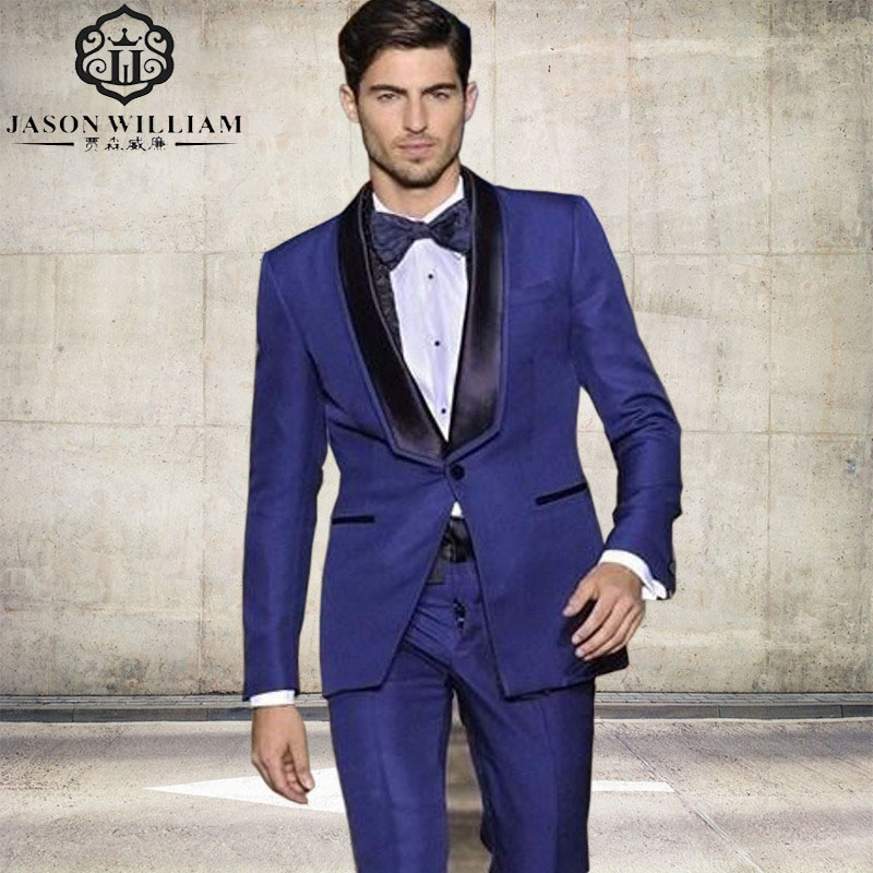 Online Buy Wholesale royal blue suit from China royal blue suit ...
