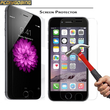 Ultrathin 2.5D Premium Tempered Glass For iPhone 4 4S 5 SE 5S 6 6S 7 Plus iPod touch 4 5 6 Screen Protector Protective Film