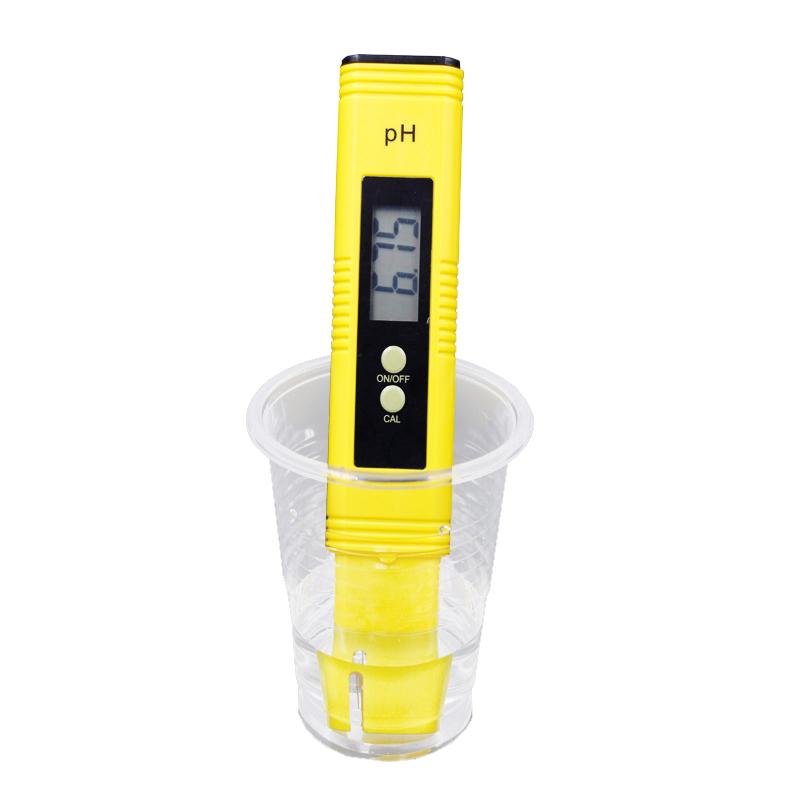 100pcs/lot Protable LCD Digital PH Meter Pen of Tester accuracy 0.01 Aquarium Pool Water Wine Urine automatic calibration %off 10