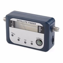 SF-07 Satellite Finder Signal Identifier Satellite Receiver TV Reception System Strength Meter Detector Pointer With Compass(China)