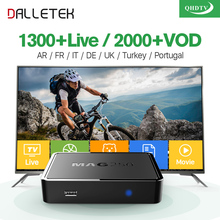 Dalletektv Linux MAG 250 IP TV Box Europe Arabic Iptv Box QHDTV Code IPTV Subscription Spain UK Turkish French MAG250 IPTV Box(China)