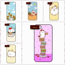 Funny Molang Cute SWAG cell Cover case for iphone 4 4s 5 5s 5c 6 6s plus samsung galaxy S3 S4 mini S5 S6 Note 2 3 4  DE0098