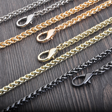 Bag Part Chains Coin Purse Locker Pattern Rope Handle Strap Supply Accessory Chain Metal Purse Handbag Chains China Factory