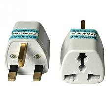 Standard UK Plug Adapter Grounded Universal Plug Adapter for UK Accepts Plugs From All Countries(China)