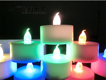 Buy 12pcs / lot Flickering Light Flameless LED Tea light Flicker Tea Candle Light Xmas Party Wedding Candles Safety Home Decor for $6.80 in AliExpress store