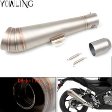 Buy Universal Modified Motorcycle Exhaust Muffler DB Killer Scooter FOR SUZUKI Bandit 650S DL1000/V-STROM GSF1200 GSF1250 SV650 for $70.19 in AliExpress store