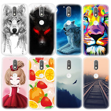 Case For Motorola Cute Cartoon Patterned Soft TPU Phone Case Cover For Moto G4 Plus G3 Z Play Painting Fundas Protective Shell