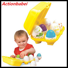 Actionbabei New Tomy Hide N Squeak Eggs Learning Activity Game/Toy for Baby/Infant/Toddler/Child(China)