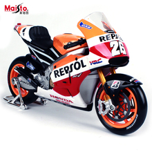 Maisto Yamaha Honda Motorcycle Racer 1:10 Scale Motorcycle Model Alloy Metal Diecast Toy Vehicles Collection Gift