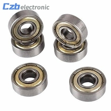 Buy 10 Pcs Carbon Steel 608zz 608-ZZ Deep Groove Ball Bearing Skateboard Scooter for $2.76 in AliExpress store